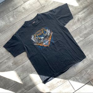 "Vintage Harley Davidson ""Justified Pride"" t-shirt"